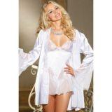 Белый сатиновый халатик цена фото