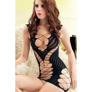 Sexy fishnet chemise