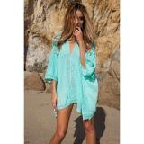 Nice beach poncho-kimono