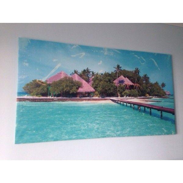 РАСПРОДАЖА! Холст на подрамнике - Райский остров