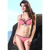 Sexy pink bikini swimsuit