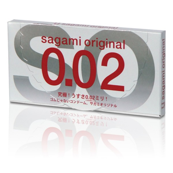 Polyurethane condoms Sagami Original 0.02 mm, 1 piece. Артикул: IXI39321