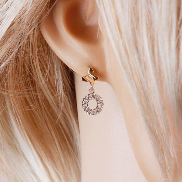 SALE! Fashion earring Xuping gold gold