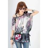 Charming floral blouse
