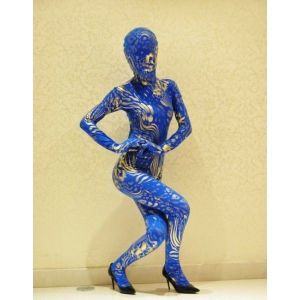 SALE! Blue-and-gold costume