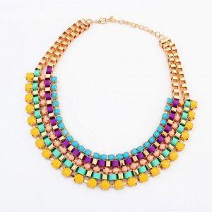 РАСПРОДАЖА! Разноцветное ожерелье