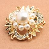 Golden brooch Lady