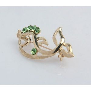 Brooch - Golden Dolphin