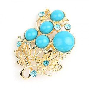Charming brooch