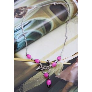 Pink necklace. Артикул: IXI39839