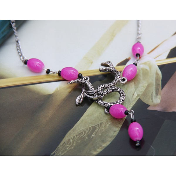 Pink necklace. Артикул: IXI39839
