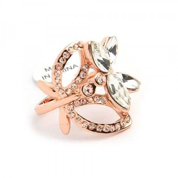 РАСПРОДАЖА! Кольцо - Розовое золото