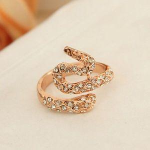 Ring - gold snake