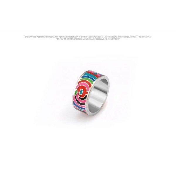 РАСПРОДАЖА! Кольцо из стали - Иллюзия