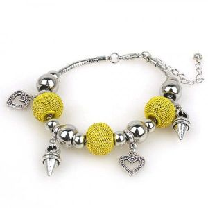 Stylish bracelet with hearts