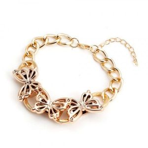 Bracelet - Golden butterfly