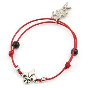 A classic bracelet with a pendant