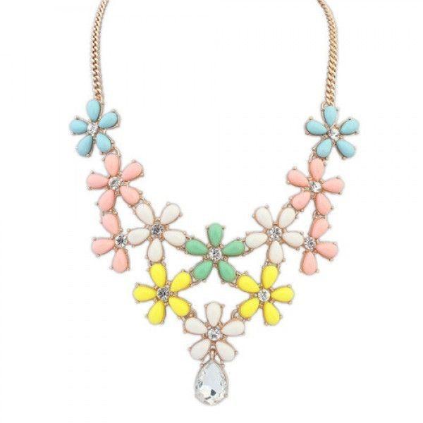 Купить онлайн Бирюзовое ожерелье фото цена акция распродажа