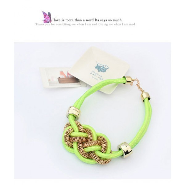 Woven necklace. Артикул: IXI39938