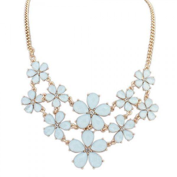 РАСПРОДАЖА! Ожерелье - Маленькие цветы