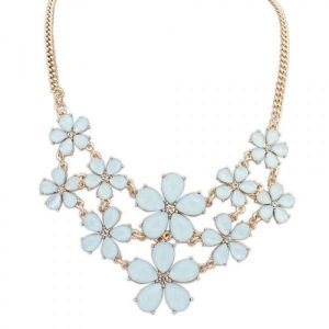 Necklace - Small flowers
