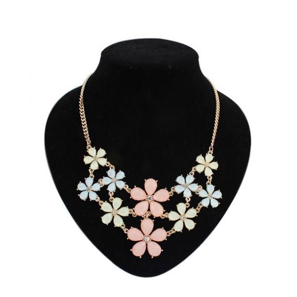Necklace - Small flowers. Артикул: IXI39940