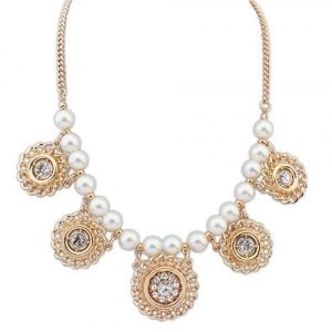 Necklace in Oriental style