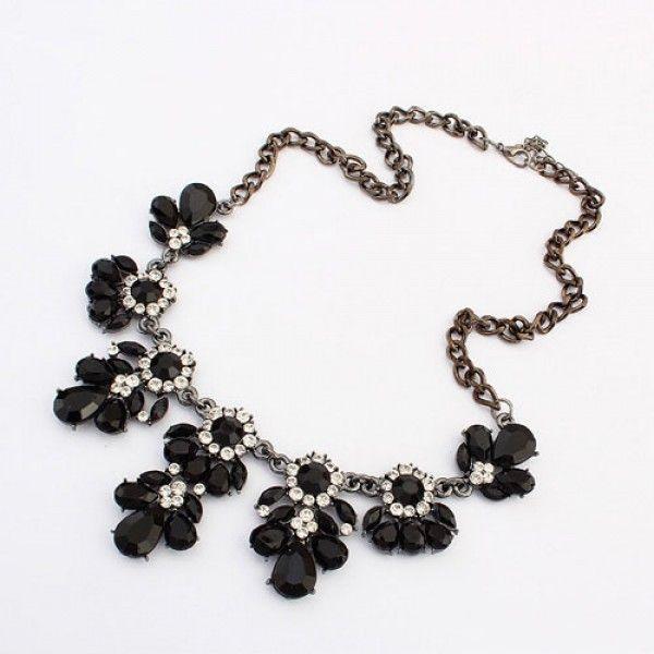 РАСПРОДАЖА! Попуряное ожерелье с цветами
