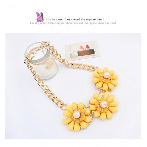 Ozelle - Yellow flowers. Артикул: IXI39944