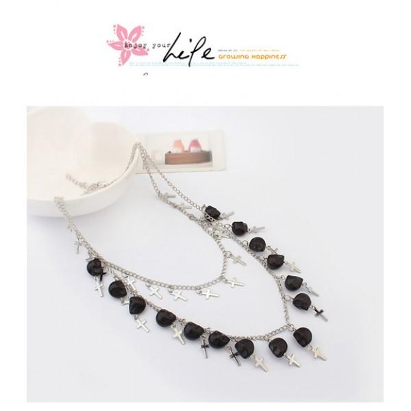 Original necklace with crosses. Артикул: IXI39955
