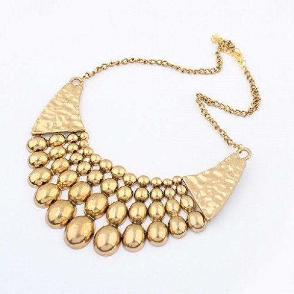 РАСПРОДАЖА! Шикарное золотое ожерелье