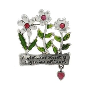 Brooch - Flower meadow