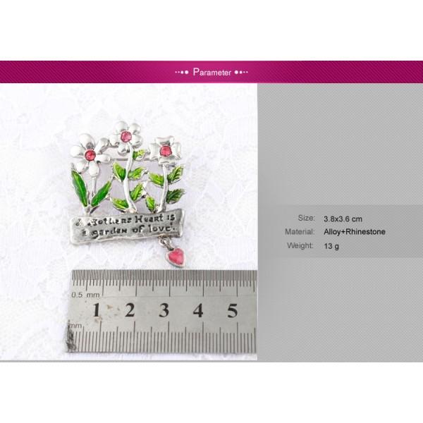 Brooch - Flower meadow. Артикул: IXI39979