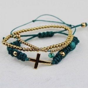 Trendy cross bracelet