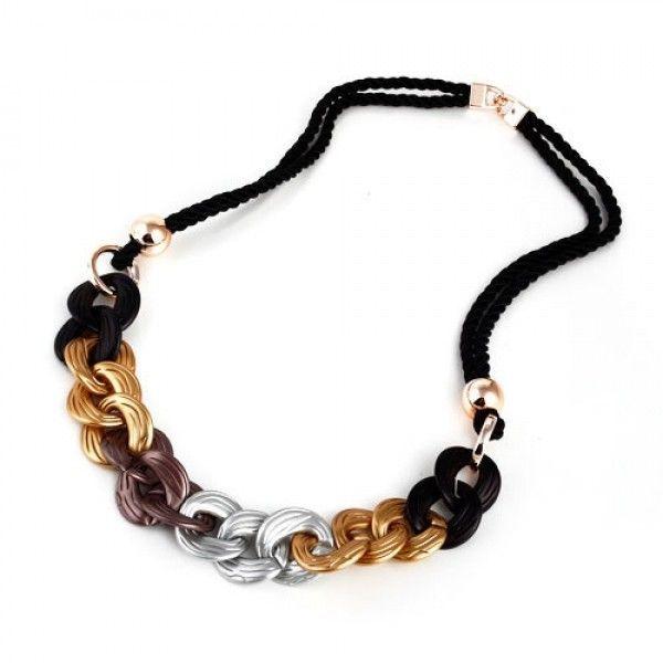 РАСПРОДАЖА! Элегантное ожерелье с кольцами