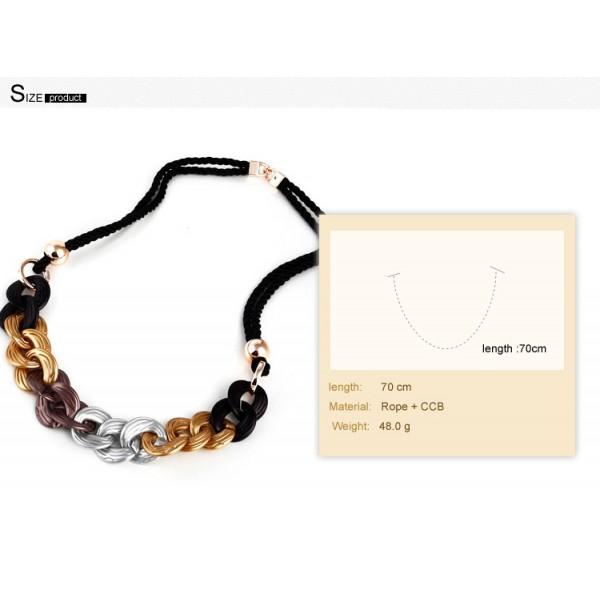 Elegant necklace with rings. Артикул: IXI40012