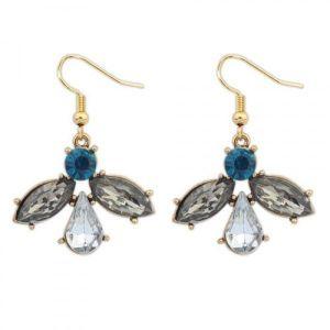 Elegant earrings with stones. Артикул: IXI40020
