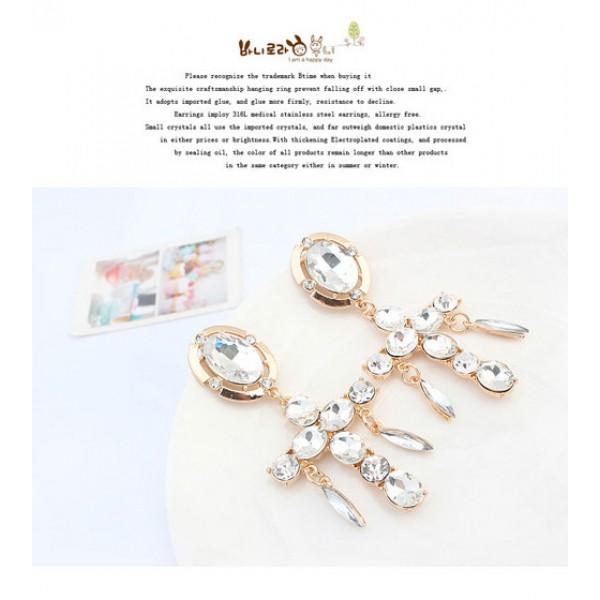 Shimmering earrings. Артикул: IXI40028