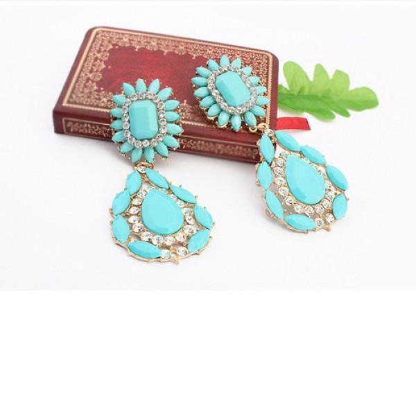 Elegant solid earrings. Артикул: IXI40031