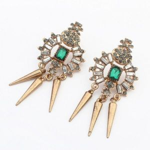 Exclusive earrings - Bronze