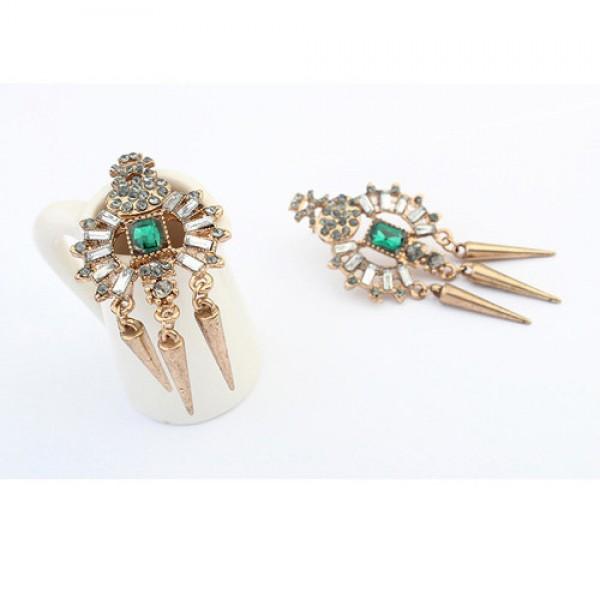 Exclusive earrings - Bronze. Артикул: IXI40036