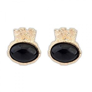 Elegant earrings oval shape