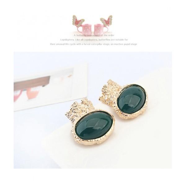 Elegant earrings oval shape. Артикул: IXI40051