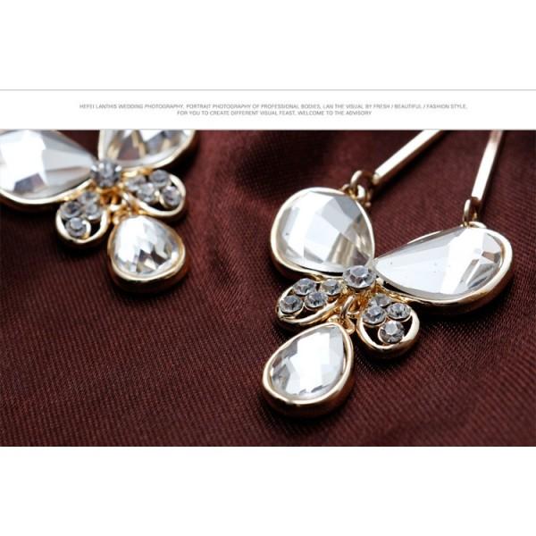 Elegant Butterfly earrings. Артикул: IXI40073