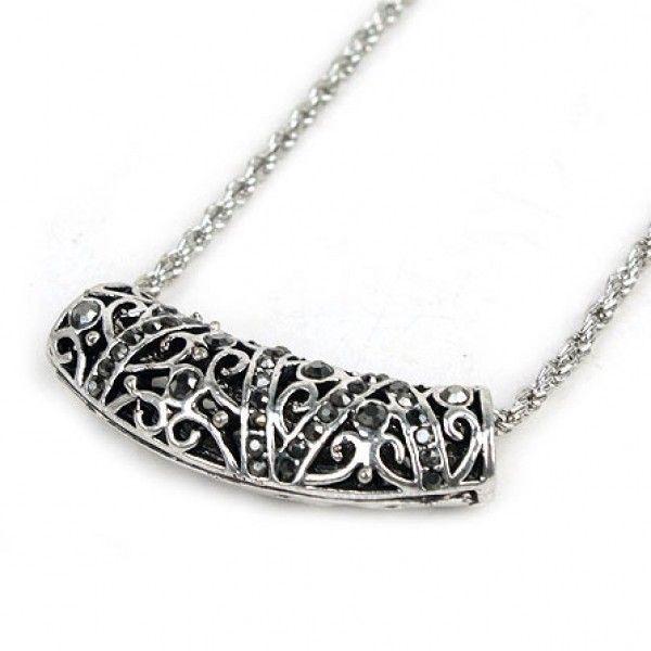 РАСПРОДАЖА! Серебряное ретро ожерелье