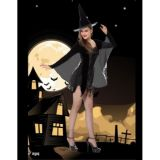Cosplay Party hallowmas Witch Magician Costume