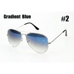 РАСПРОДАЖА! Очки солнцезащитные Ray-Ben Aviator голубые