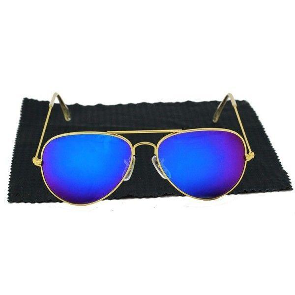 Купить онлайн РАСПРОДАЖА! Очки солнцезащитные Ray-Ben Aviator фото цена акция распродажа