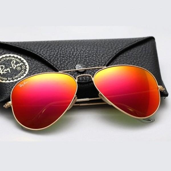 SALE! Sunglasses Ray-Ben Aviator gold. Артикул: IXI40113