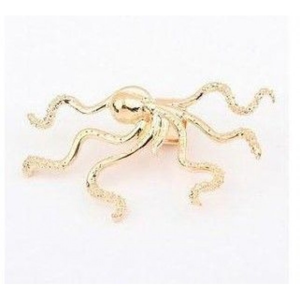 Silver earring with octopus. Артикул: IXI40124